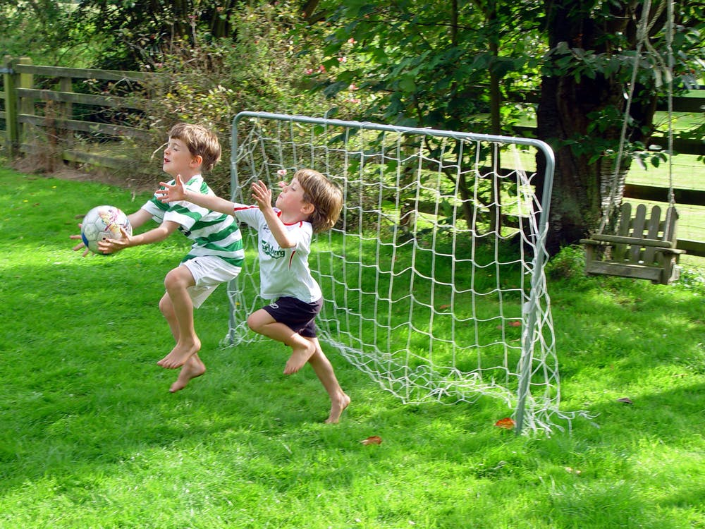 Free stock photo of kids, play, soccer
