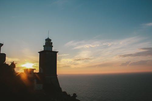 天際線, 日出, 早晨的太陽, 晴朗的天空 的 免費圖庫相片
