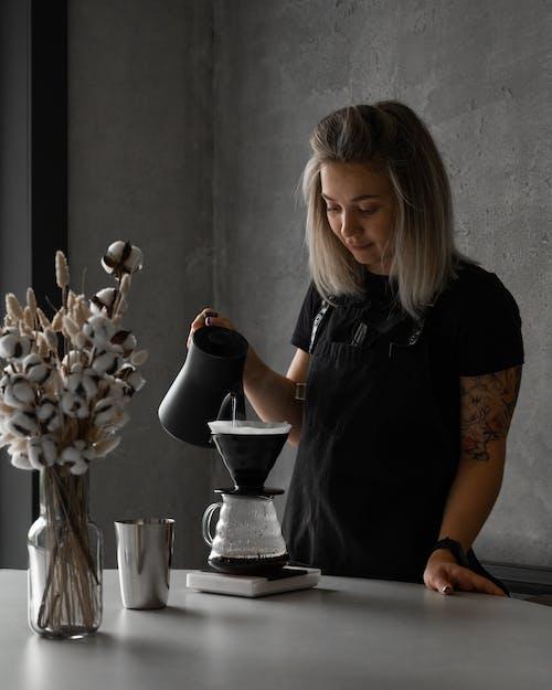 Imagine de stoc gratuită din adult, băutură, cafea