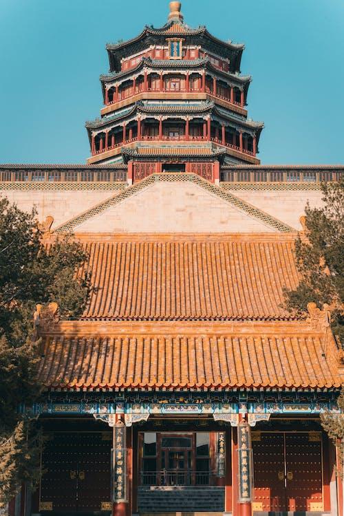 Kostenloses Stock Foto zu alt, china, chinesische architektur