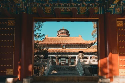 Kostenloses Stock Foto zu architektur, buddha, burg