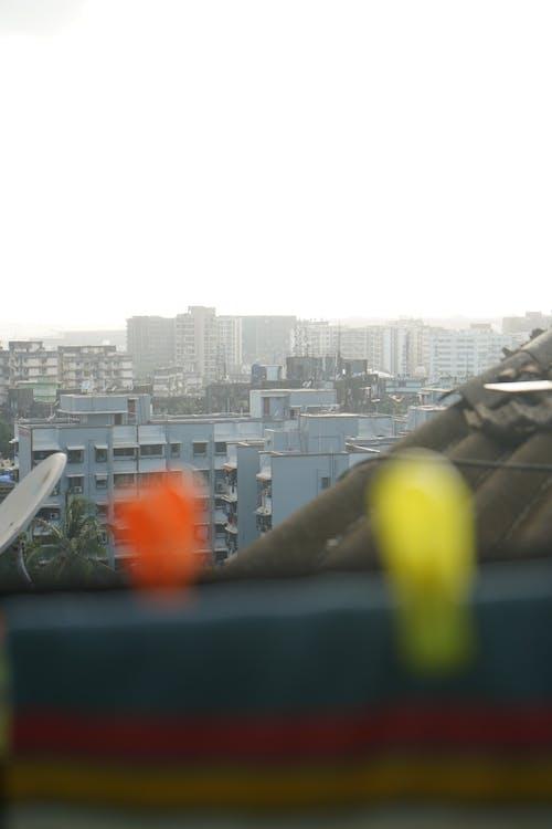 Free stock photo of apartment building, cloths, mumbai