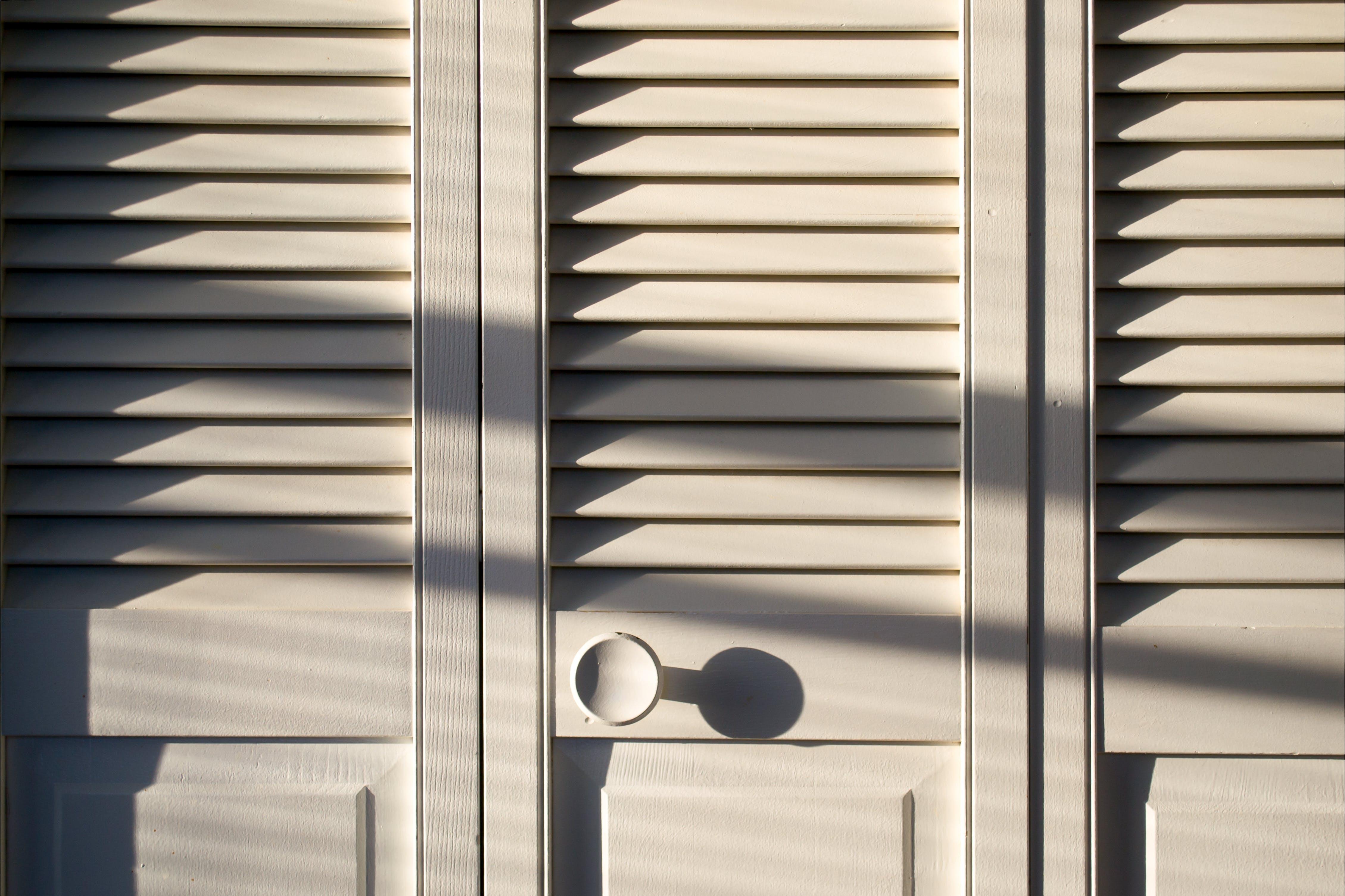 Free stock photo of closet door, door handle, door knob, minimalism