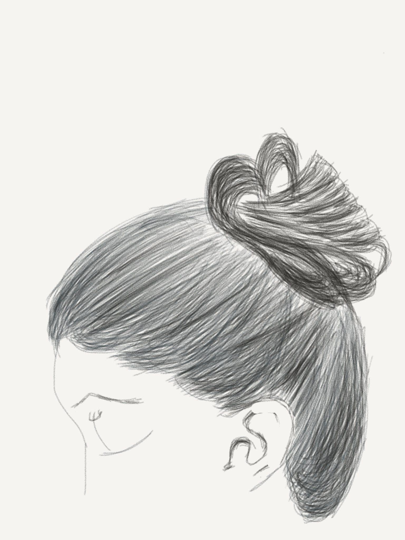 Free stock photo of art, digital art, girl, sketch