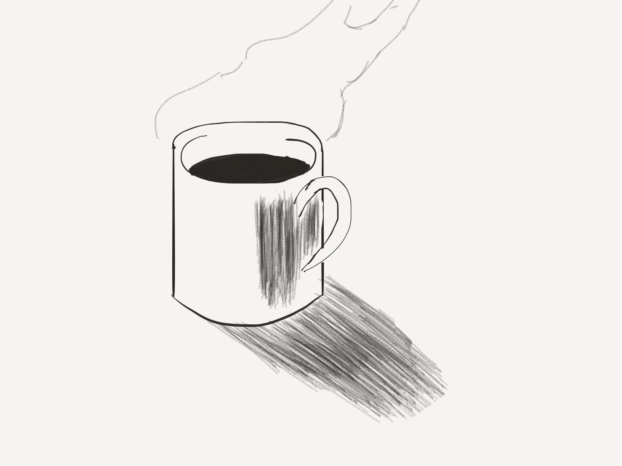 Free stock photo of art, coffee mug, digital art, mug