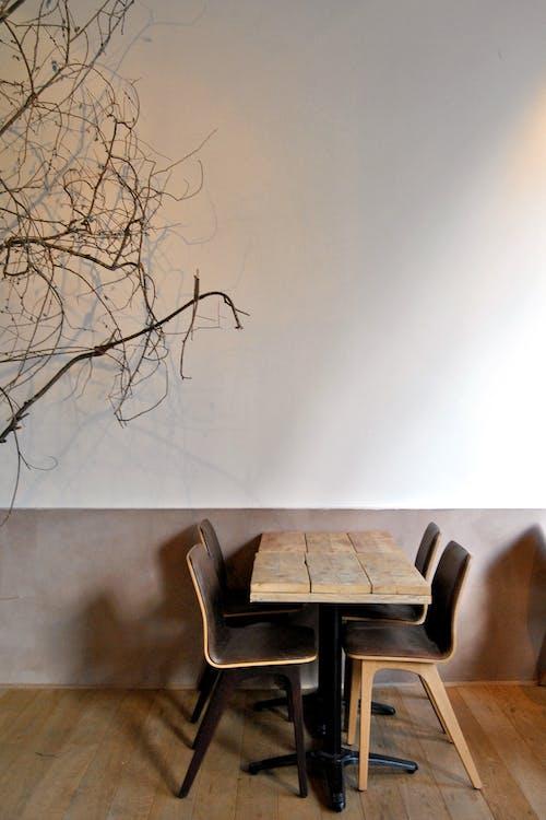 Free stock photo of chair, empty, minimalism