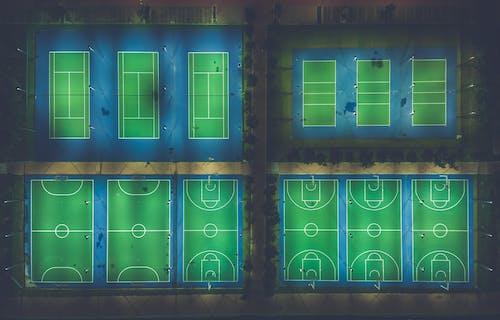 Darmowe zdjęcie z galerii z boisko do koszykówki, ilustracja, jasny, kolor