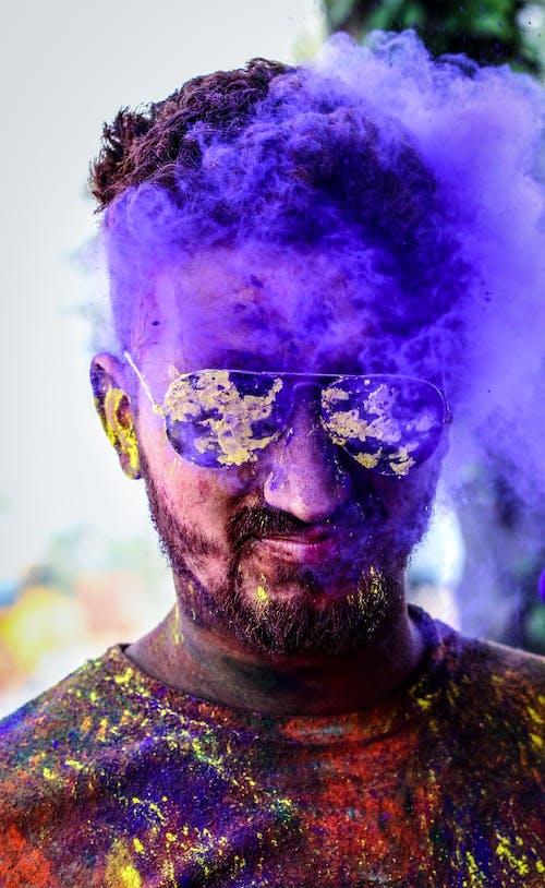 人, 塗料, 墨鏡, 成人 的 免费素材照片