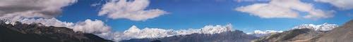 Gratis stockfoto met berggebied, dhaulagiri nepal panoramisch, himalaya
