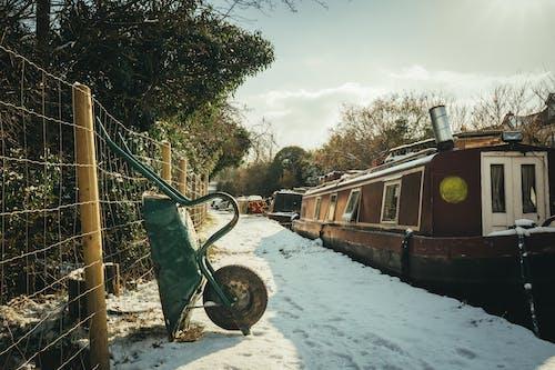 フェンス, 冬, 天気, 日光の無料の写真素材