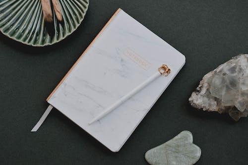 White Envelope on Black Table