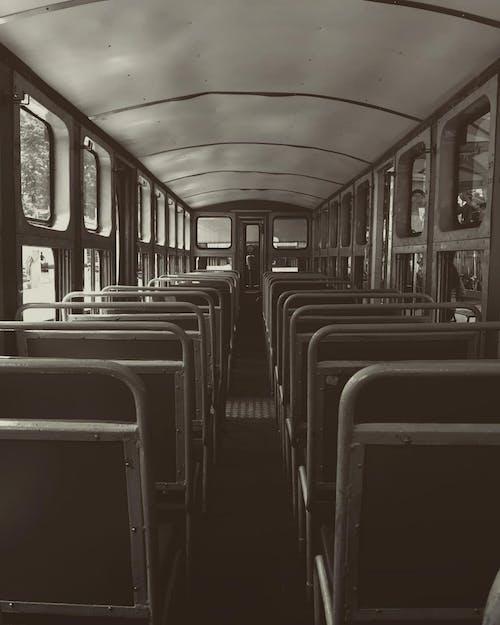 Бесплатное стоковое фото с архитектура, в помещении, вагон