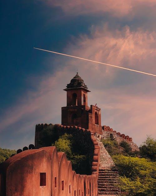 Gratis stockfoto met amer fort, architectueel design, architectueel ontwerp