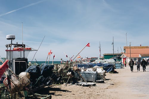 araç, balıkçı, balıkçı teknesi içeren Ücretsiz stok fotoğraf