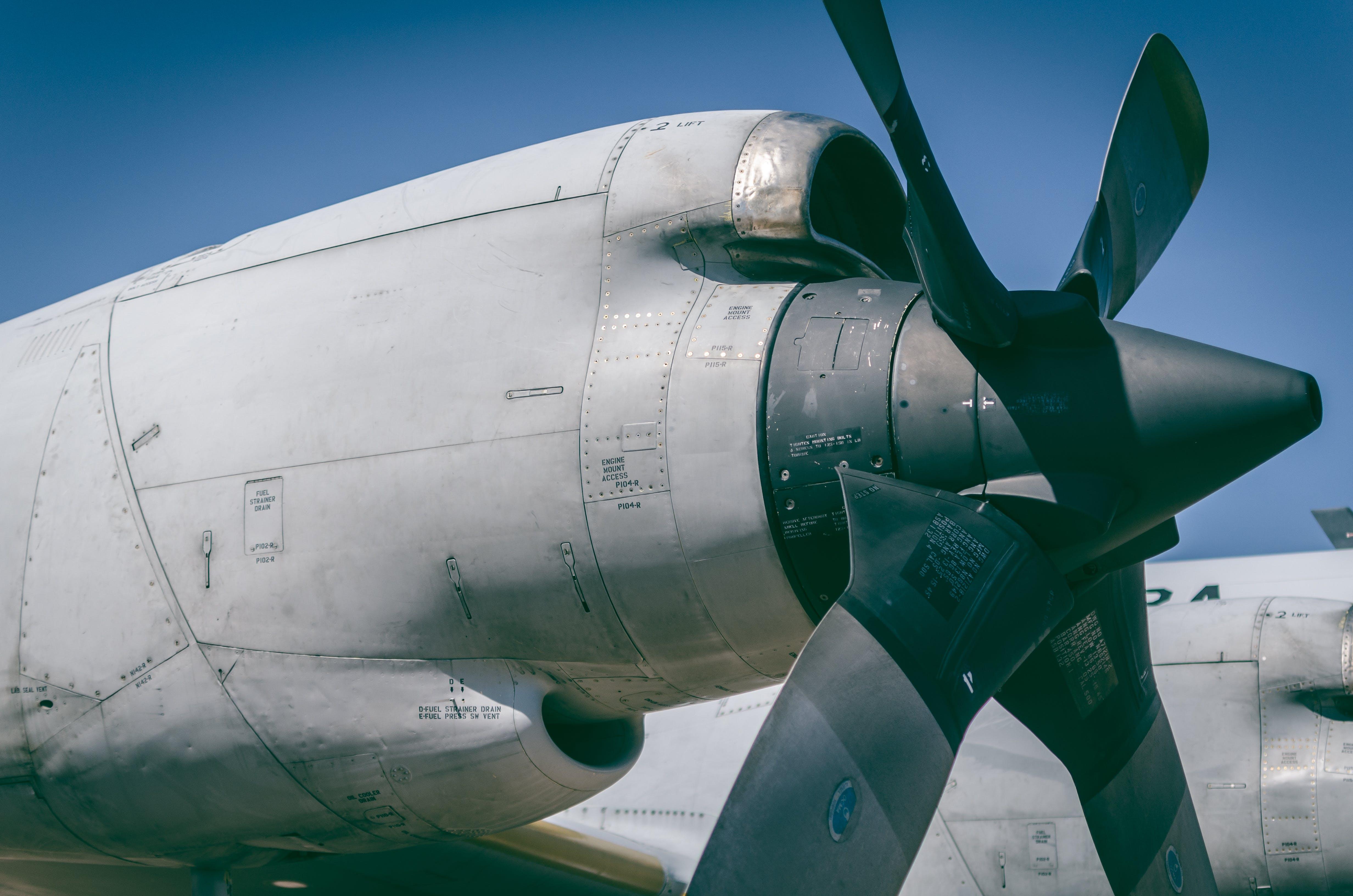 flugzeug, flugzeugpropeller, luftfahrt