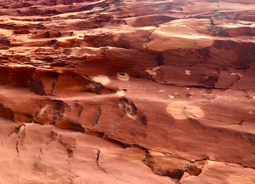 岩壁, 橙紅色岩石, 橙色的牆 的 免費圖庫相片