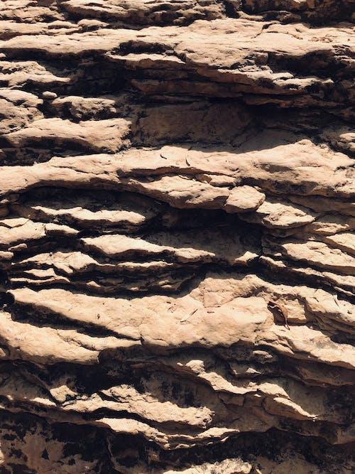 岩壁, 牆壁, 白色的岩石 的 免費圖庫相片