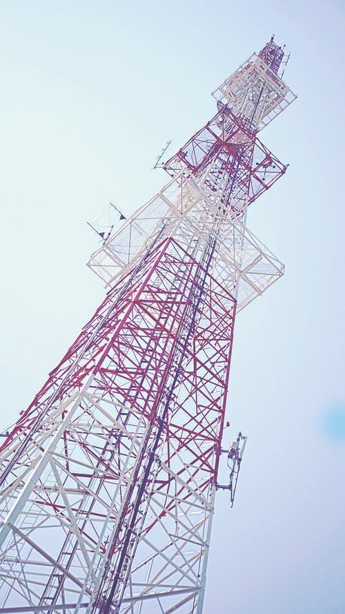TV탑, 강철, 기술, 높은의 무료 스톡 사진