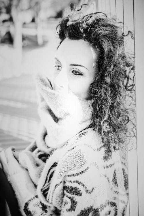 Foto d'estoc gratuïta de adult, bellesa, bonic, bufanda