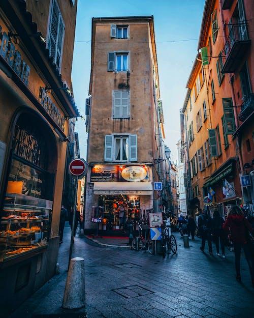 低角度, 城市, 城鎮 的 免費圖庫相片