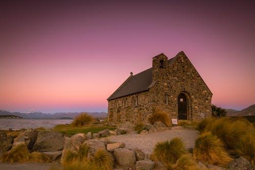 Бесплатное стоковое фото с архитектура, вечер, гора