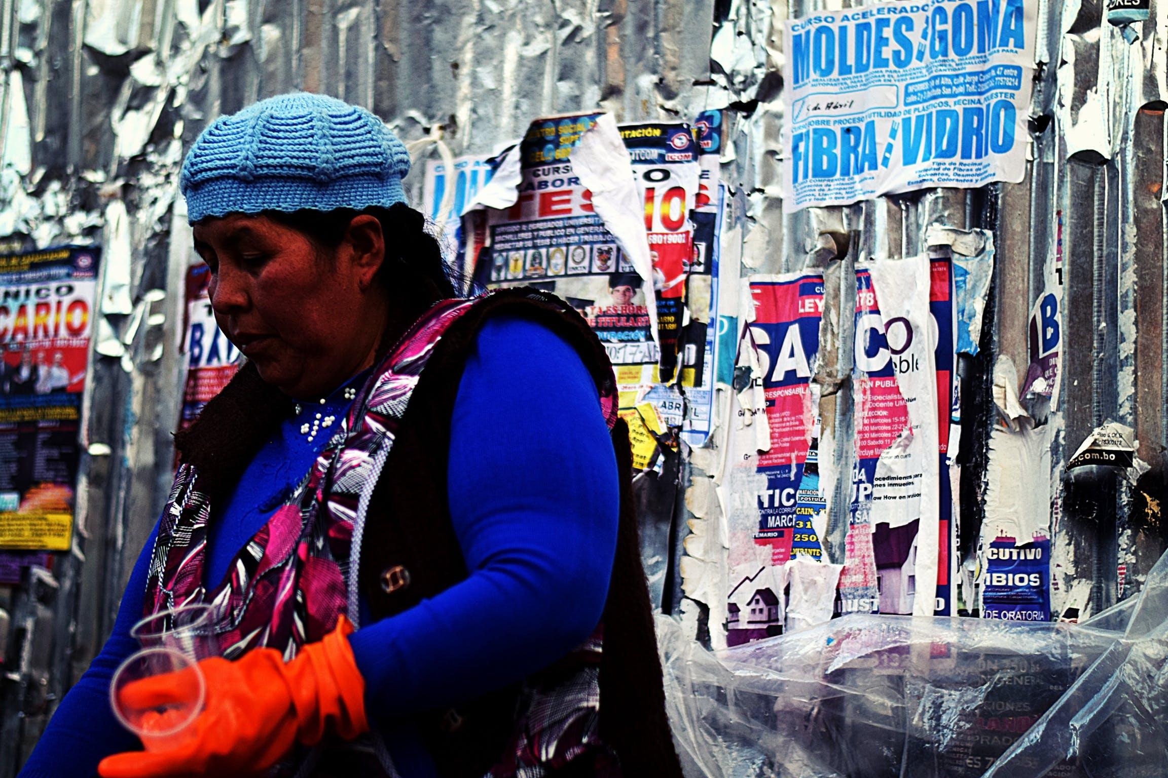 Foto d'estoc gratuïta de amèrica, antic, cartell, dama