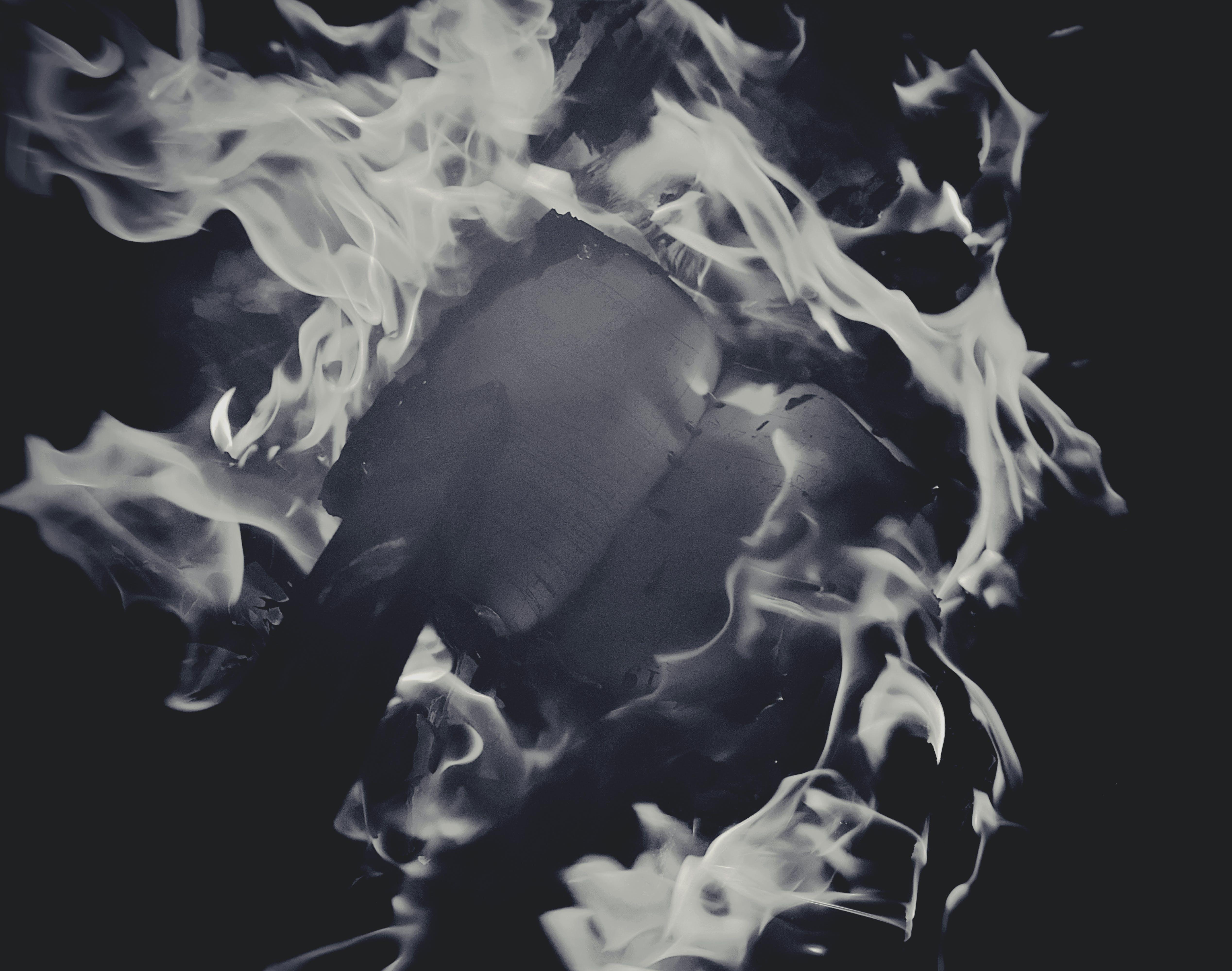 Foto d'estoc gratuïta de art, cendra, cremant, destrucció