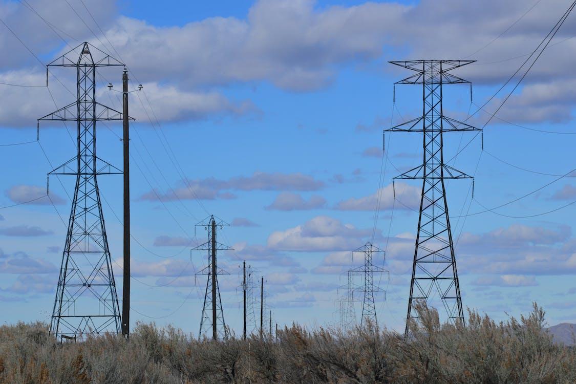 dodávka, drôt, elektrická energia