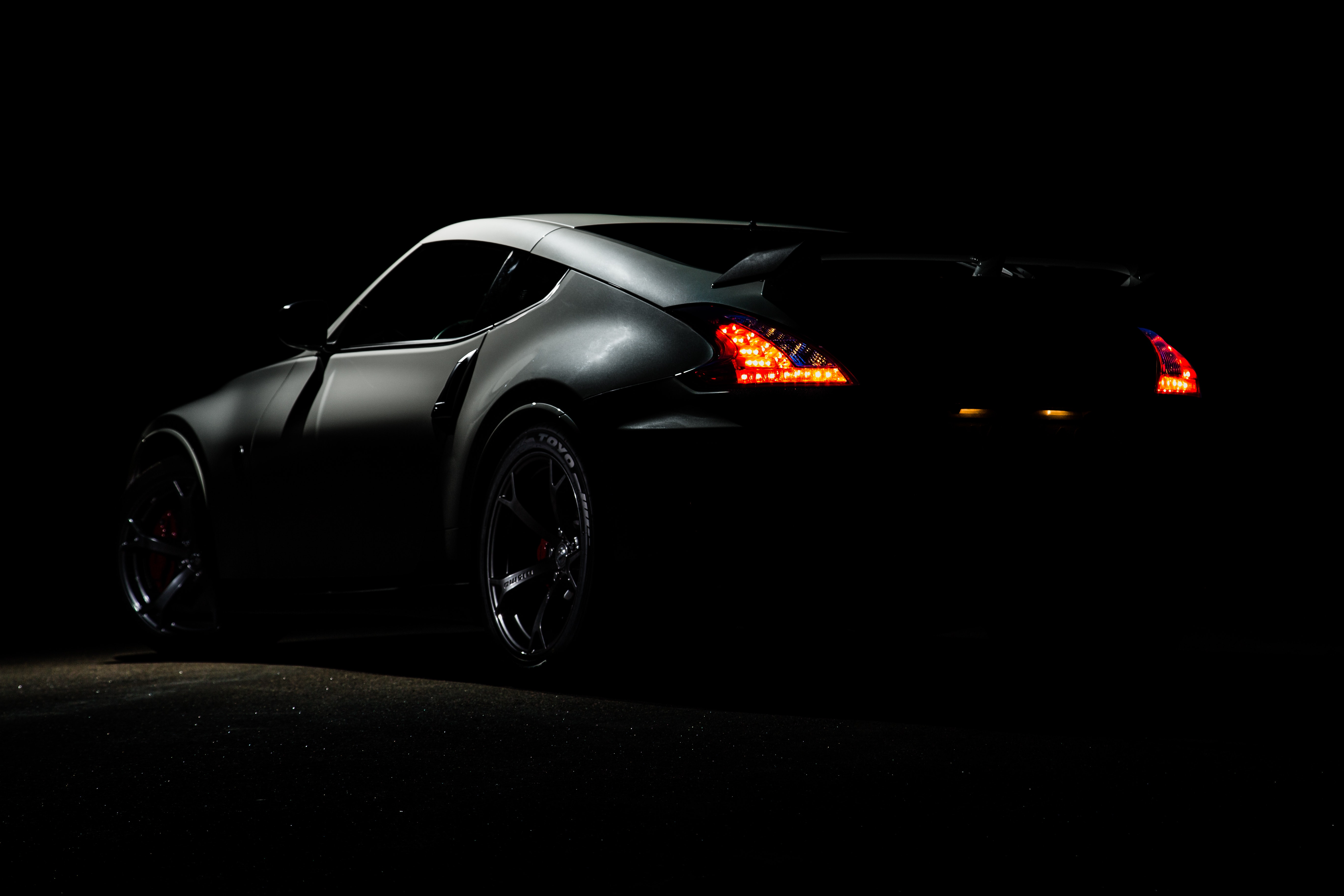 Photography Of Gray Sports Car Free Stock Photo