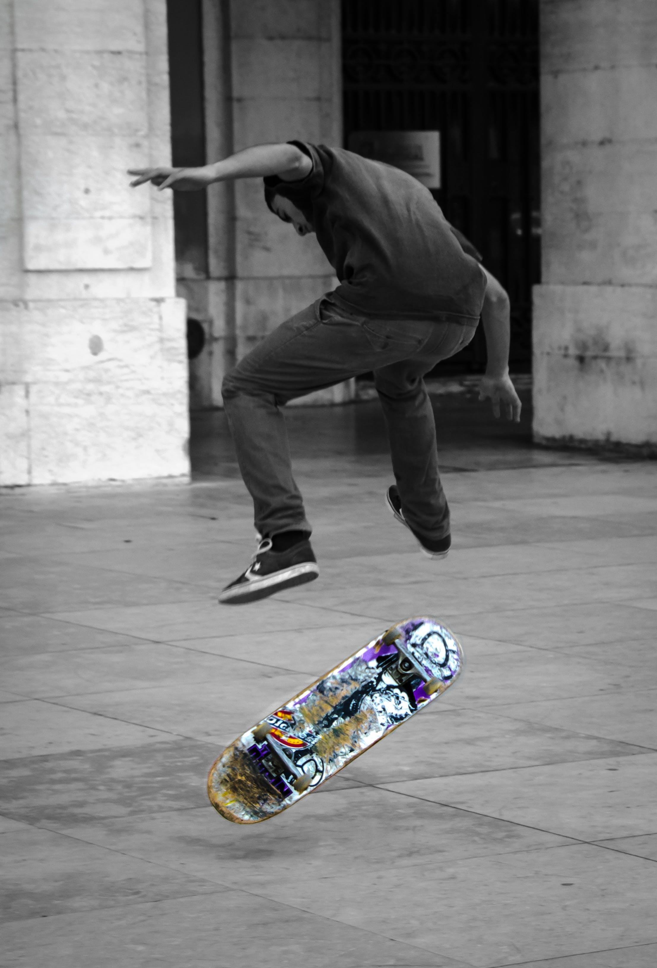 Free stock photo of city, skateboard, urban, youth