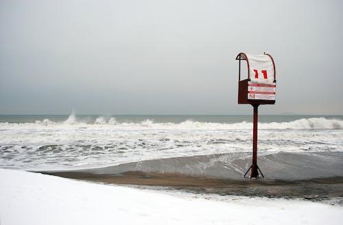 Kostenloses Stock Foto zu himmel, meer, ozean, strand