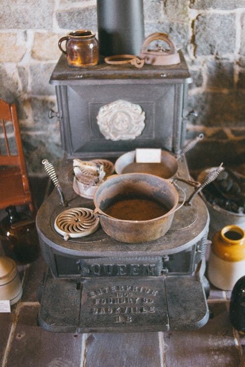 Cast Iron Burner and Cookware