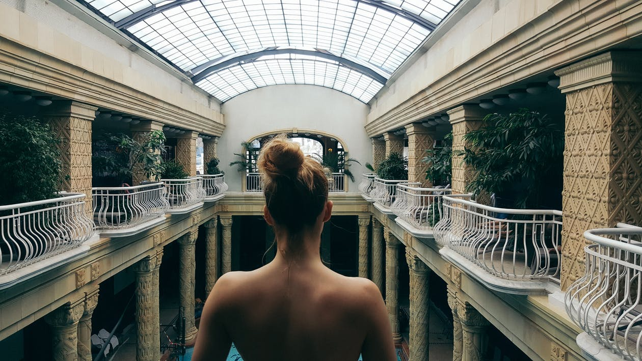 arkitektur, bygning, dagslys