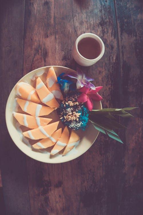 Foto stok gratis buah eksotis, chiang mai, mangga, teh