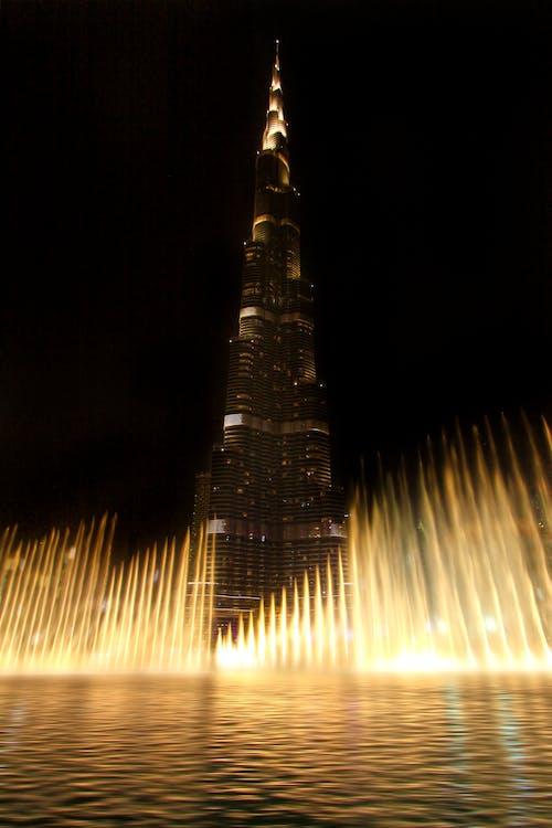 Бесплатное стоковое фото с Архитектурное проектирование, башня, бурдж-халифа