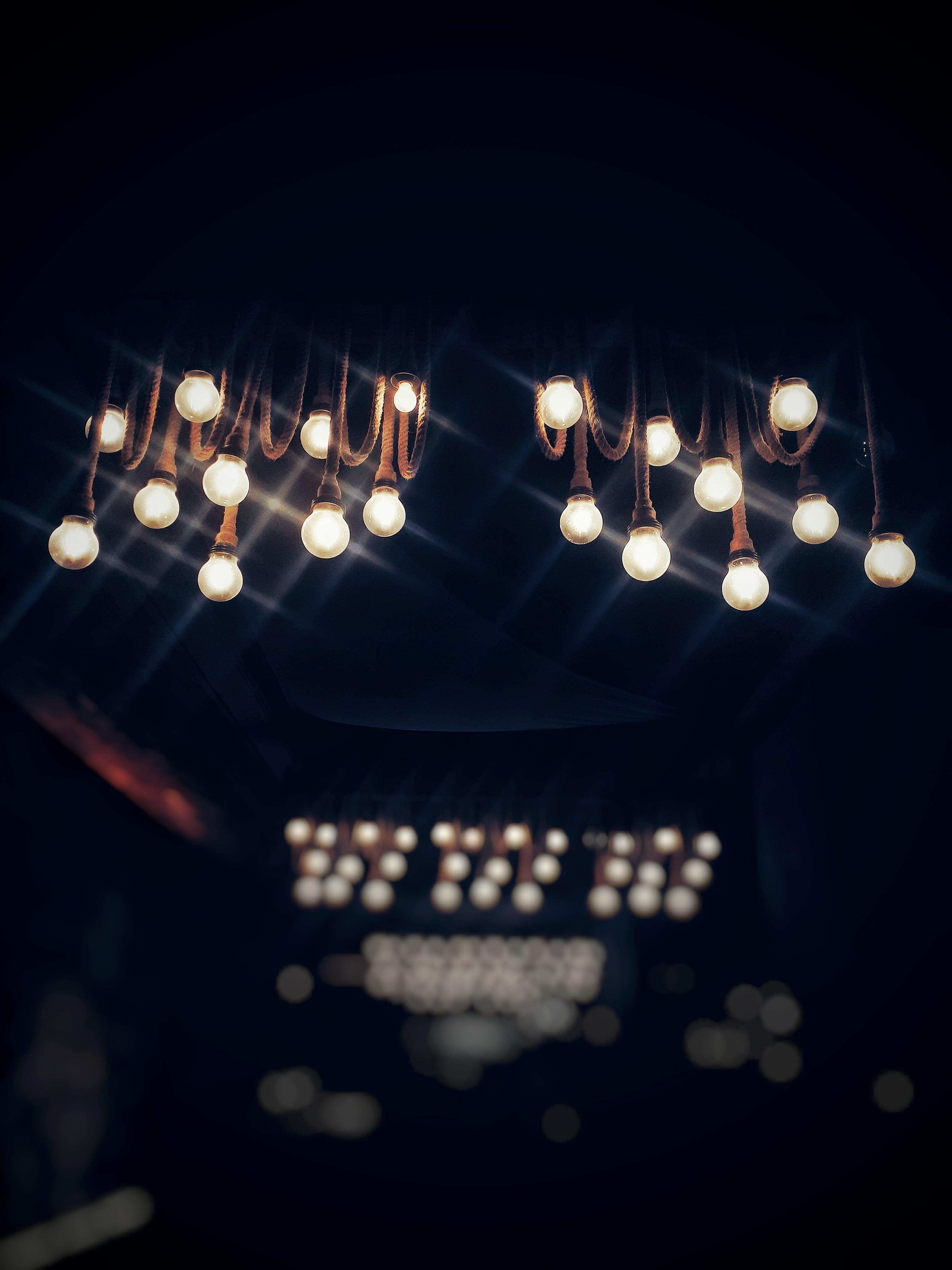 Lighted Bulbs