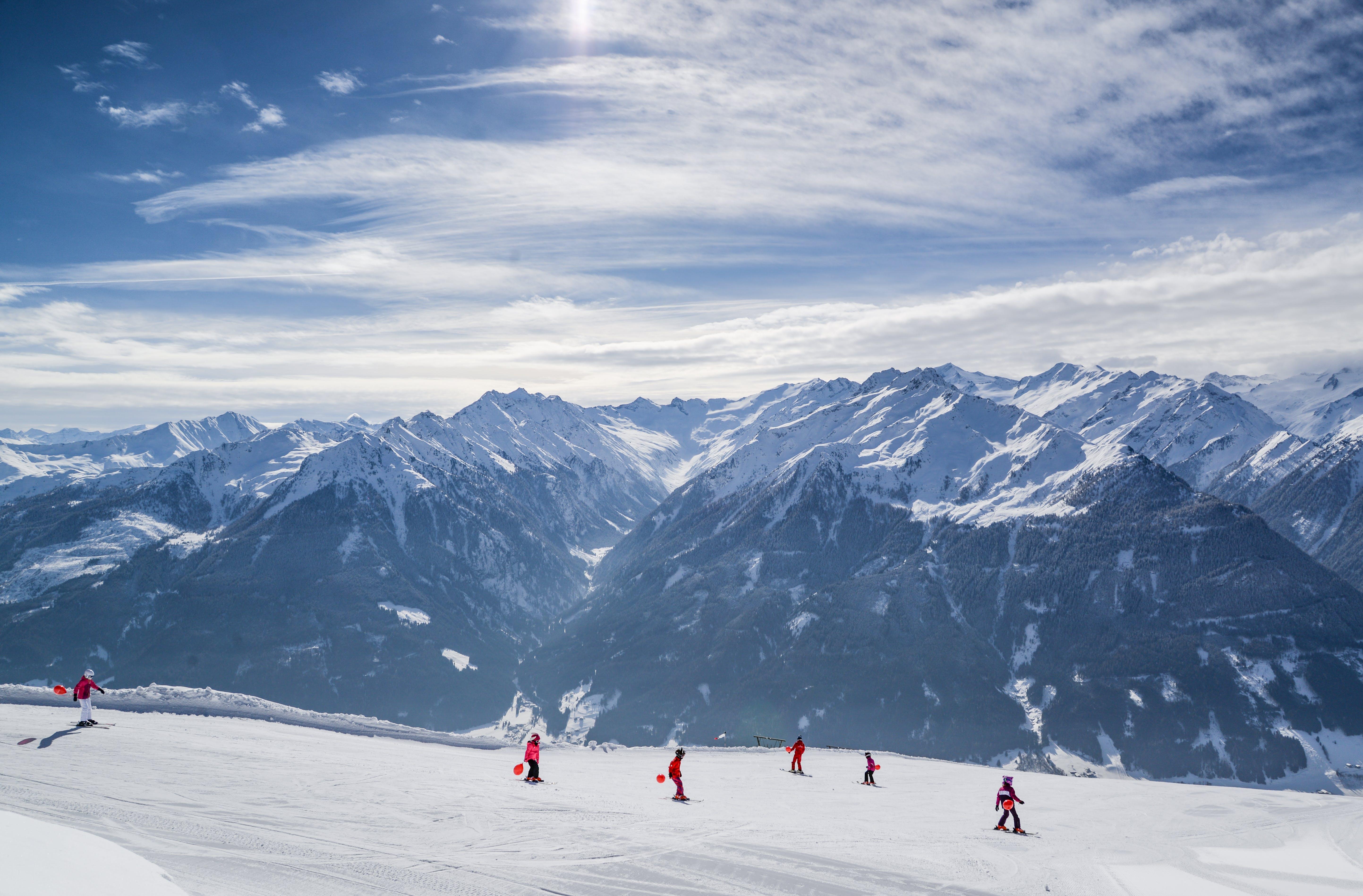 People on Skiing