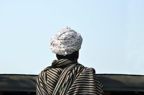 Gratis lagerfoto af blomster turban