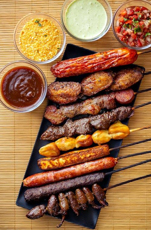 Kostenloses Stock Foto zu abendessen, bratwurst, essen