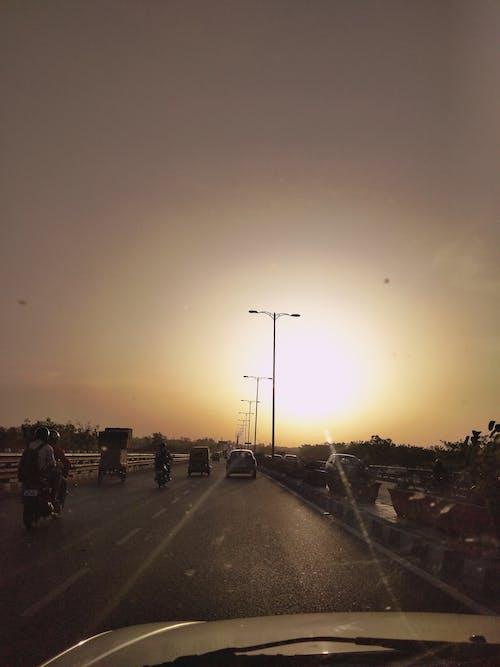 운전, 태양의 무료 스톡 사진