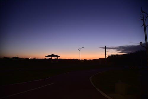 Δωρεάν στοκ φωτογραφιών με δύση του ηλίου, μπλε ώρα