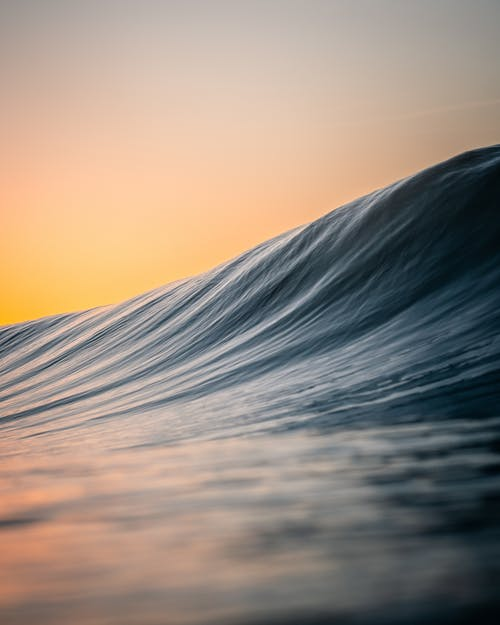 Time Lapse Photography of Water Wave