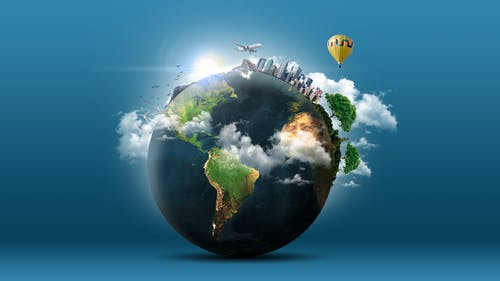 คลังภาพถ่ายฟรี ของ การคุ้มครองสิ่งแวดล้อม, ดาวเคราะห์, ดาวเคราะห์สีน้ำเงิน, ทะเล