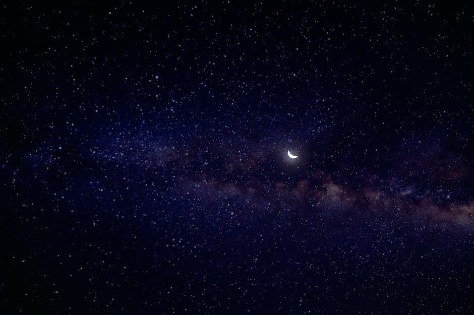 Night view of sky