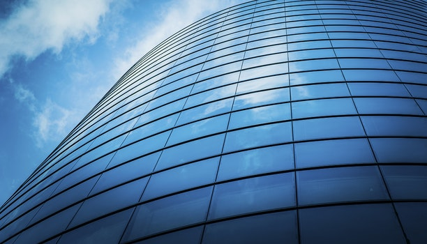 Glass Panels of a Building