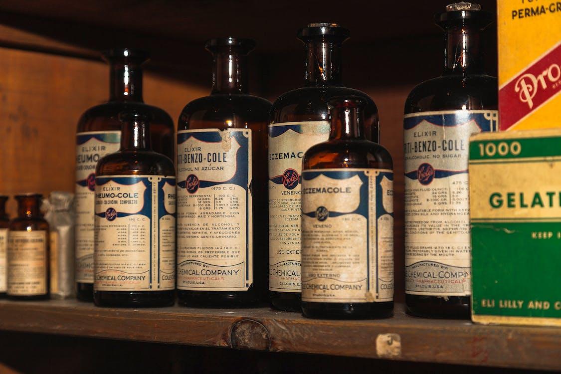 Free stock photo of flask, medicine, pharmacy