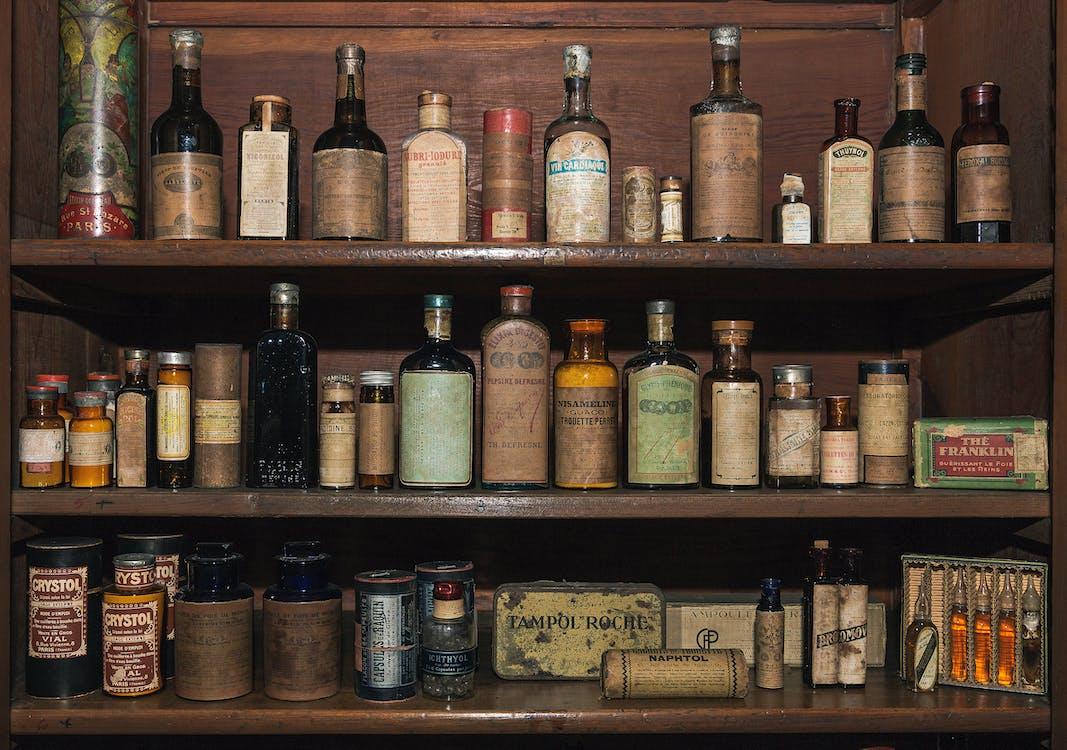 Free stock photo of cuba, drugstore, flask