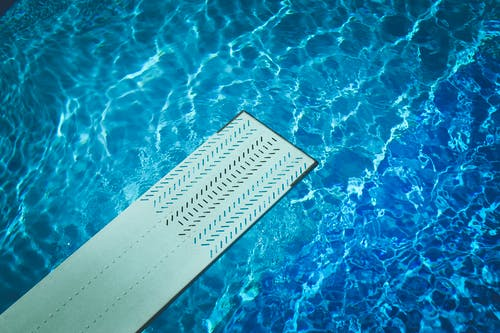 Free stock photo of blue, diving board, pool, recreation