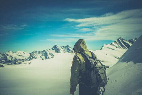 Free stock photo of adventure, alone, backpack, climbing
