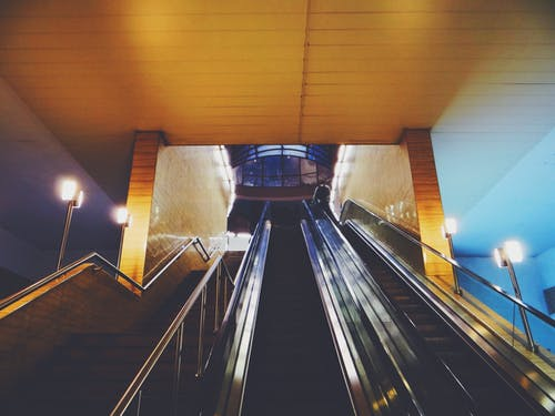 Gratis lagerfoto af Bulgarien, flytende trappe, Metro, rulletrappe